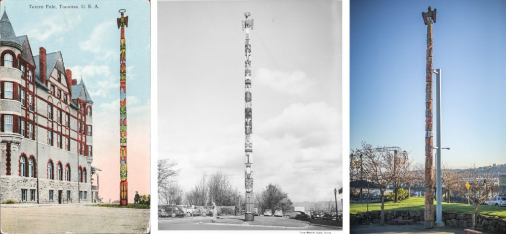 The Strange History of the Tacoma Totem Pole