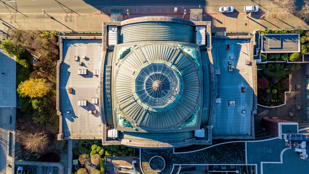 Looking Down on the City: Amazing Drone Photos by Over Tacoma