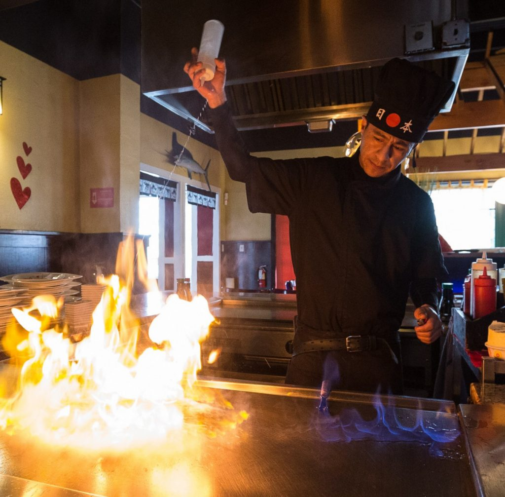 Mandolin Restaurant and Steak House teppanyaki