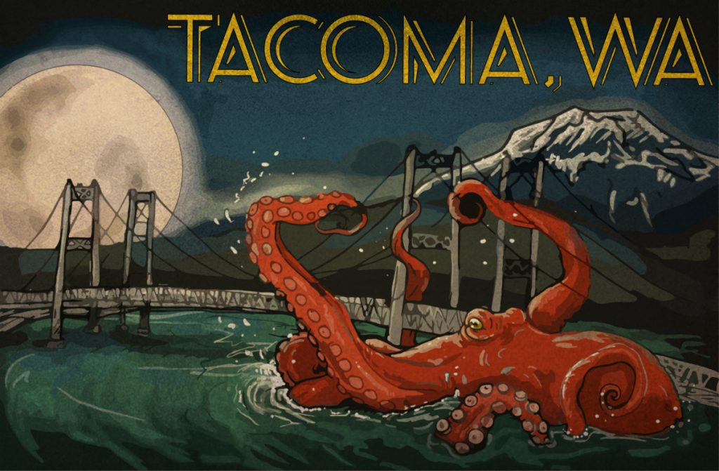 Kraken the Case Behind One of Tacoma's Most Popular Local Legends