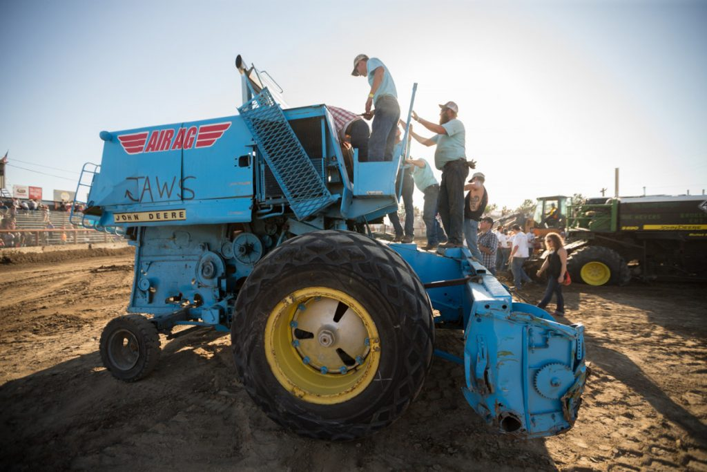 Get Out of Town: Photo Proof the Combine Demolition Derby is Worth the Road Trip