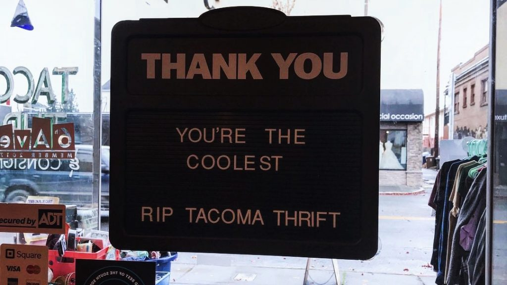 RIP Tacoma Thrift: How One 6th Ave Business Has Been Pushed Out