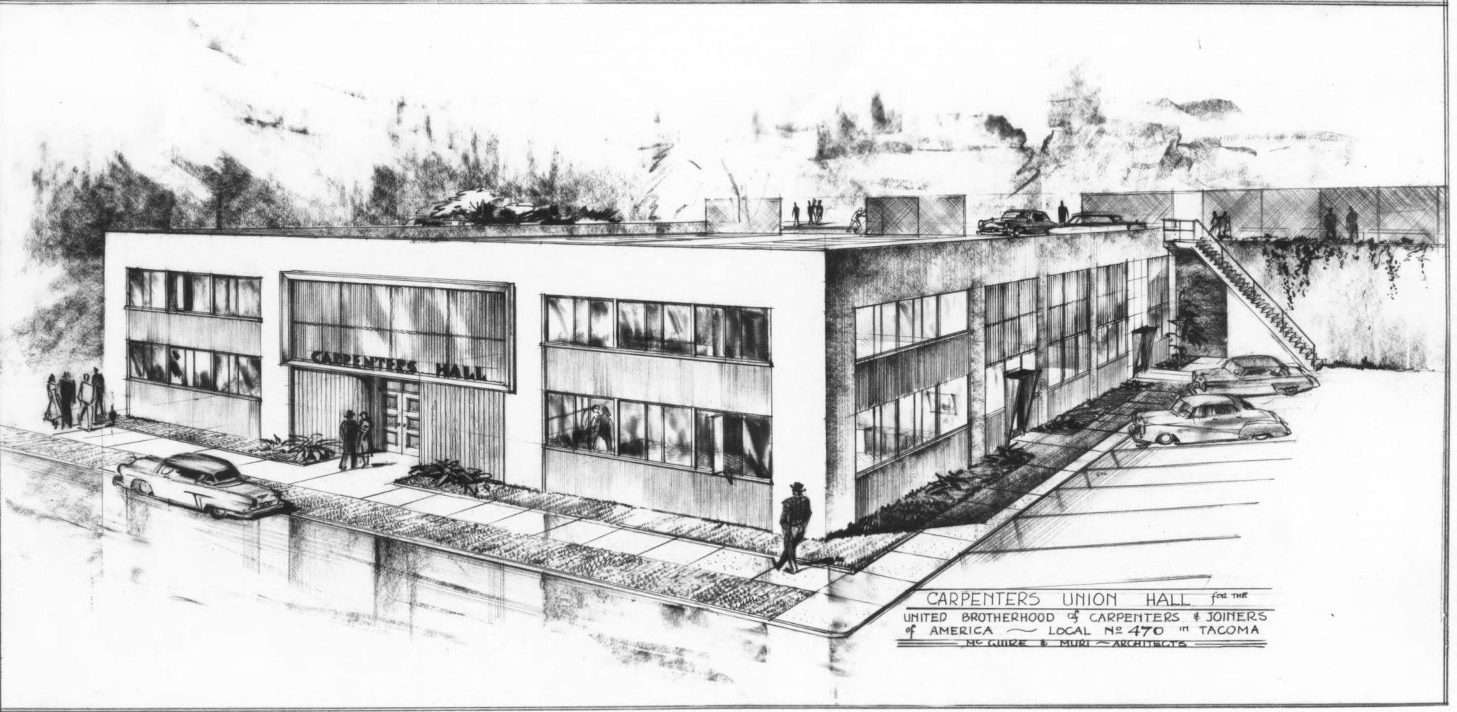 Alma Mater Tacoma Carpenters Building