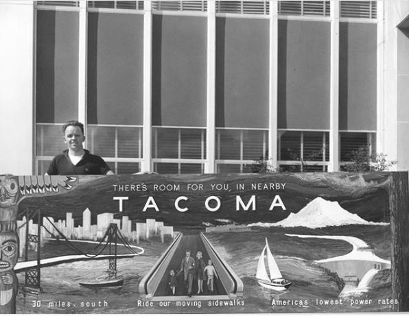 Tacoma sign historical